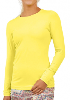 Sofibella Ladies & Plus Size Long Sleeve Golf/Tennis Sun Shirts - UV COLORS (Assorted Colors)