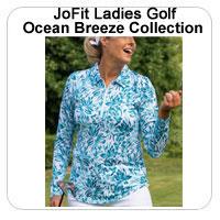 JoFit Ladies Golf Ocean Breeze Collection
