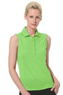 SALE Monterey Club Ladies & Plus Size Dry Swing Sleeveless Golf Polo Shirts - Assorted Colors