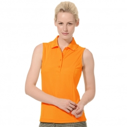 SPECIAL Monterey Club Ladies & Plus Size Dry Swing Sleeveless Golf Shirts - Assorted Colors