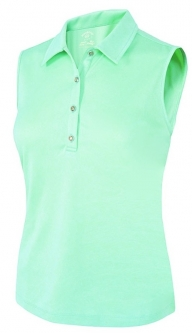 8c7ffbafce0b2 SALE Monterey Club Ladies   Plus Size Floral Emboss Sleeveless Golf Polo  Shirts - Assorted Colors