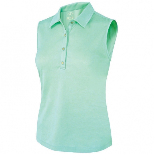 113f2d7e960a7 Lori s Golf Shoppe  SALE Monterey Club Ladies   Plus Size Floral Emboss  Sleeveless Golf Polo Shirts - Assorted Colors