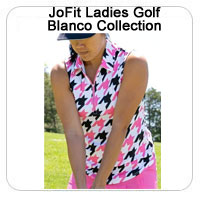 JoFit Ladies Golf Blanco Collection