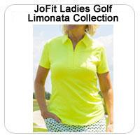 JoFit Ladies Golf Limonata Collection