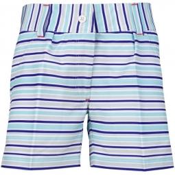 9a8415951f6 Turtles   Tees Junior Girls Kira Pull On Golf Tennis Shorts - Turtle  Stripes (