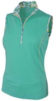 Lori 39 s golf shoppe monterey club plus for Plus size sleeveless golf shirts