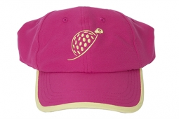 Turtles & Tees Junior Girls Pink Turtle Caps with Take A Swing Print