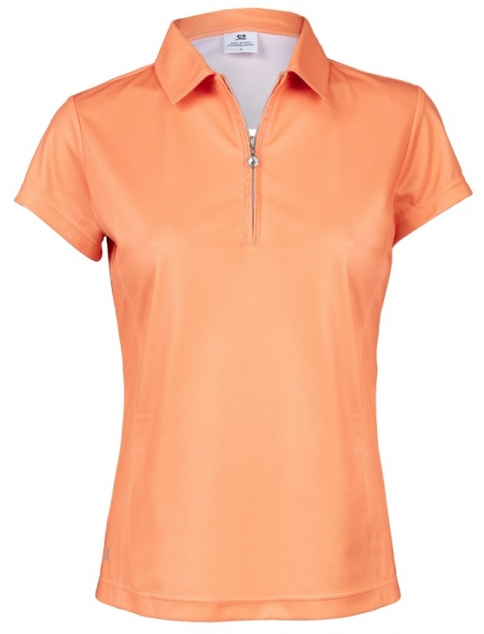 67364eec Daily Sports Ladies & Plus Size Macy Short Sleeve Golf Polo Shirts - Blossom