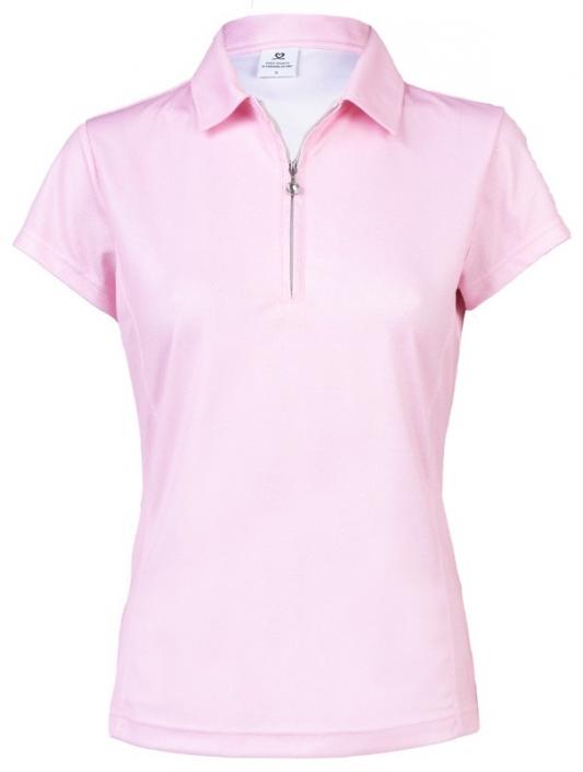 25fd732e Daily Sports Ladies & Plus Size Macy Short Sleeve Golf Polo Shirts - Blush