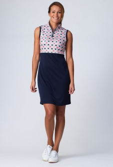 Daily Sports Ladies Trish Sleeveless Golf Dress - Navy