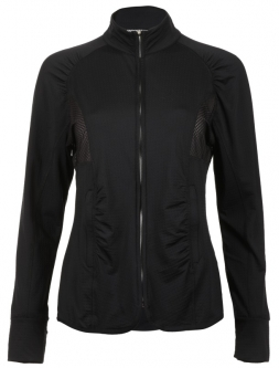 Bette & Court Ladies CE Warrior Full Zip Golf Jackets - I Got Your Black (Black)
