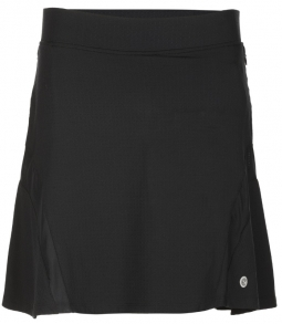 "SPECIAL Bette & Court Ladies and Plus Size Bliss 18"" Pull On Golf Skorts - COOL ELEMENTS (Black)"
