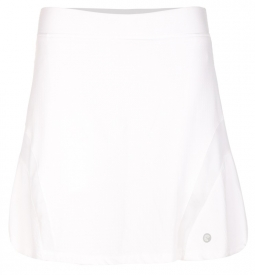 "SPECIAL Bette & Court Ladies Bliss 18"" Pull On Golf Skorts - COOL ELEMENTS (White)"