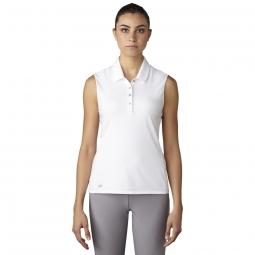 Lori 39 s golf shoppe adidas for Plus size sleeveless golf shirts