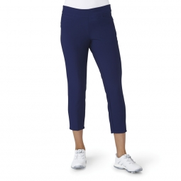 CLEARANCE Adidas Ladies Ultimate 365 Adistar Ankle Pull On Golf Pants - Night Sky