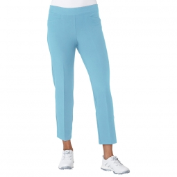 CLEARANCE Adidas Ladies Ultimate 365 Adistar Ankle Pull On Golf Pants - Icey Blue