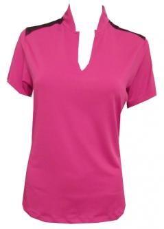 571bf2508d29f SALE Bermuda Sands Ladies Short Sleeve Misha Golf Shirts - Bloom
