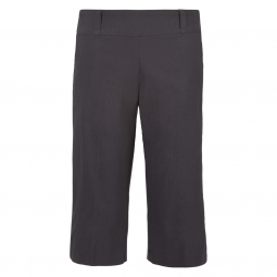 Bette & Court Ladies Basics Pull On Smooth Fit Golf Capris - Black & Stone