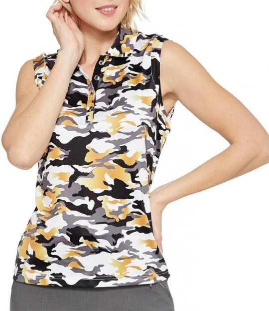 a632623f Lori's Golf Shoppe: GGblue Ladies Holly Sleeveless Golf Polo Shirts ...
