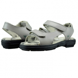 Golfstream Ladies Two Strap Ladies Golf Sandals - Classic Gray