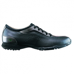 CLEARANCE Golfstream Ladies Honeycomb Golf Shoes - Black