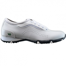 CLEARANCE Golfstream Ladies Honeycomb Golf Shoes - White