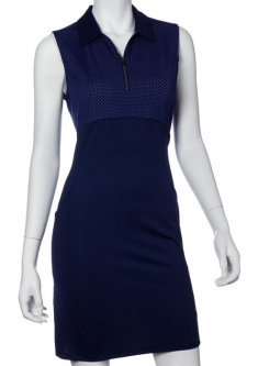 SPECIAL  EP New York Ladies Sleeveless Golf Dresses - Luxor (Inky Multi)