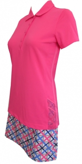 EP New York Ladies & Plus Size Golf Outfits (Shirt & Skort) - Ice Ice Baby (Pink Puree)