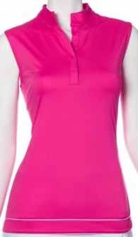 SALE EP New York Ladies Sleeveless Golf Shirts - Brilliants (Blooming Multi)