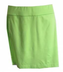 "CLEARANCE EP New York Ladies & Plus Size Golf 17.5"" Pull On Skorts - Good Sport (Sonic Lime)"