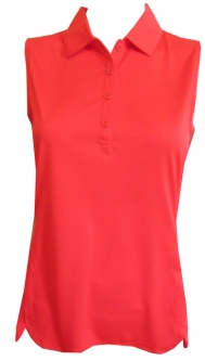 EP New York Ladies Sleeveless Golf Shirts - Culture Clash (Tiger Lily)