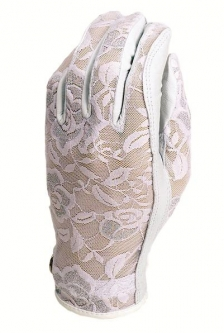 Evertan Ladies Designer Golf Gloves - Gilded Floral (LH Only)
