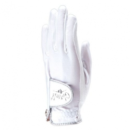 Glove It Ladies Golf Gloves (Left Hand) - White Clear Dot