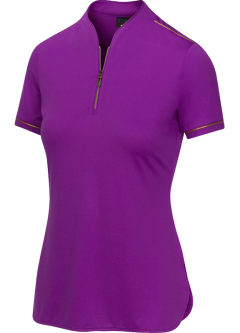 SPECIAL Greg Norman Ladies Sartorial S/S Golf Shirts - IMPERIAL (Imperial Purple)