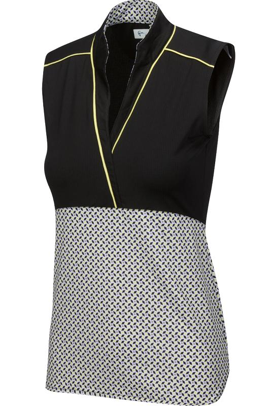 Greg Norman Womens Liberty S//L Sculpted Mock Collar Dress