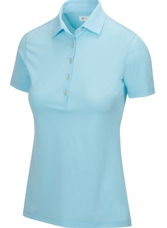 Greg Norman Ladies & Plus Size FREEDOM Short Sleeve Golf Polo Shirts - ESSENTIALS (Assorted Colors)