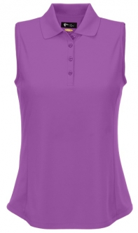 CLEARANCE Greg Norman Ladies Sleeveless Protek Micro Pique Golf Shirts - Essentials(Assorted Colors)