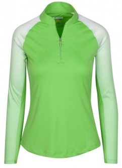 SALE Greg Norman Ladies Solar XP Engineered Tonal Cutaway L/S Golf Shirts - Assorted (Spring'19