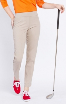 "SlimSation Ladies  29"" Pull On Golf Ankle Pants - Assorted Colors"