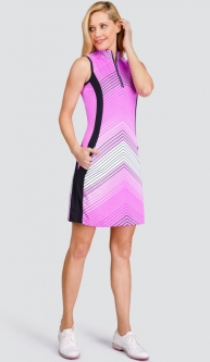 "Tail Ladies Maceo 36.5"" Sleeveless Golf Dress - FULL BLOOM (Ombre Stripe)"