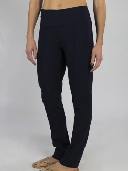"JoFit Ladies 33.5"" Inseam Slimmer Pull On Golf Pants - Mai Tai (Midnight Navy)"