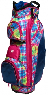 Glove It Ladies 14-way Golf Cart Bags - Electric Plaid