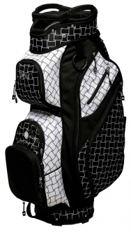 Glove It Ladies Golf Cart Bags - B/W Basketweave
