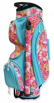 CLEARANCE All for Color Ladies Golf Cart Bags - Aloha Paradise