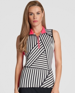 Tail Ladies Cindy Sleeveless Golf Tops - RADIANCE (Facade)