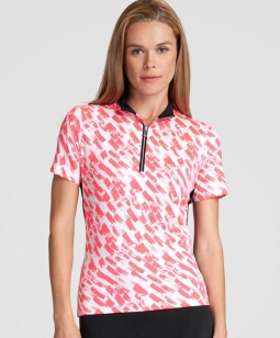 CLEARANCE Tail Ladies & Plus Size Corine Short Sleeve Golf Tops - RADIANCE (Fresco)