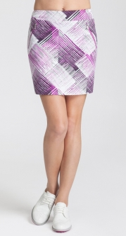 "CLEARANCE Tail Ladies DECO VIBE Darby 18"" Pull On Golf Skorts - Vibe"