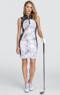 "Tail Ladies Giselle 36.5"" Sleeveless Golf Dress - BETTER THAN BASICS (Etched Floral Light)"