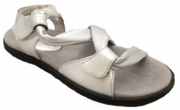 Sandbaggers Ladies Golf Sandals - GRACE Silver