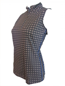 Tail ladies plus size sleeveless golf shirts elec blue for Plus size sleeveless golf shirts
